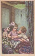 CARD BERTIGLIA BIMBI AMORE  GARCONNIERE CANE LAMPADA  CUSCINI ART DECO -FP-N-2- 0882-22262 - Bertiglia, A.