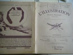 L�ILLUSTRATION  18 mars 1922- STATUAIRE  REIMS-SYRIE KALAAT - BIARRITZ-FESTIVAL LEGION D�HONNEUR-ST PIERRE ET MIQUELON