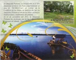 Lote P2013-7, Peru, 2013, HF, SS, Amazonía, Indigenous Themes, Amazonas River - Peru