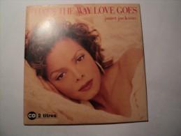 CD 2 TITRES JANET JACKSON. 1993. THAT S THE WAY LOVE GOES. VIRGIN ARTISTES CREDITES TELS JAMES HARRIS III / - Disco, Pop