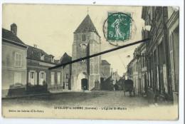 CPA -St Saint Valery Sur Somme - L'Eglise St Martin - Saint Valery Sur Somme