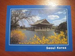 Korea South. Seoul. Gyeongbokgung Palace.  Mint - Korea, South