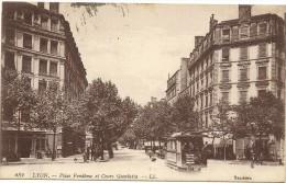 Lyon - Place Vendôme Et Cours Gambetta - Lyon