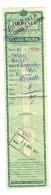 biglietto Tirrenia Napoli Tripoli m/n augustus 1939
