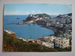 Lt1098)  Isola Di Ponza - Il Porto Dalla Panoramica - Latina