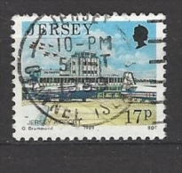 JERSEY - Mi-Nr. 472 Ansichten Von Jersey Flughafen Jersey Gestempelt (2) - Jersey