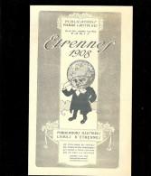 JE SAIS TOUT Etrennes 1908 pub pour FEMINA, LA JOIE DES ENFANTS, MUSICA, LA VIE AU GRAND AIR, FERMES et CHATEAUX,