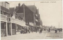 62-BERCK-PLAGE-L´Esplanade 1916  Animé - Berck
