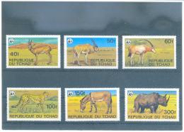 CHAD - WWF- 849/854 (6V) 1979 - MICHEL - Chad (1960-...)