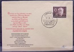 BERLIN 115 FDC Tod Von Prof. Dr. Ernst Reuter - [5] Berlin