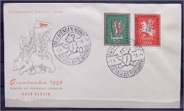 """Bund 1958 Nr. 286-287 - FDC  """"Jugendmarken"""" - BRD"""