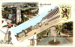 CPSM (format Cpa) Hazebrouck Eglise St-Eloi Place Du Général De Gaulle E1247 - Hazebrouck