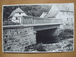 SEWEN (68) PONT SUR LE SEEBACH En 1945 . PHOTO (169x113) - Lieux