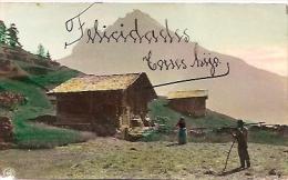 RARISSIME RARA POSTAL POSTCARD HAND COLOR DETAILS ECRITURE RARE VOYAGÉE INDETERMINATE PAS ÉMIS GECKO - Postkaarten