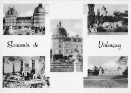 Souvenir De Valençay - Multivues - Le Château - Le Jardin De La Duchesse Anne - Le Parc... - Carte CAP Non Circulée - France
