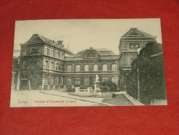 LIEGE  -  Institut D´Electricité  (cour) - Liege