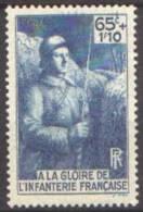 France - N°  387 * Militaire - Gloire à L Infanterie - Nuevos