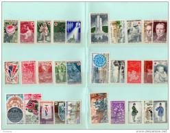 FRANCE-lot De 60 Timbres Différents Neufs ****sans Charnièreannées 60-70 - Stamps