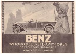 Original Werbung - 1916 -  Benz & Cie. , Mannheim , Automobile !!! - Cars