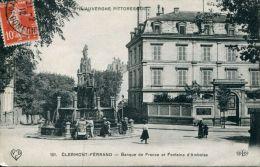 N°41338 -cpa Clermont Férrand -banque De France- - Banques