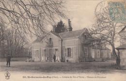 CPA - St Germain Du Puy - Colonie Du Val D´Yèvre - Maison Du Directeur - France