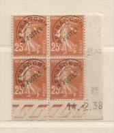 FRANCE ( FCDP - 7 )  1922 N° YVERT ET TELLIER  N° 57   N** - Esquina Con Fecha
