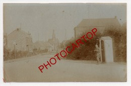 BERLAIMONT-Carte Photo Allemande-Guerre14-18-1WK-Militaria-Frankreich-France-59- - Berlaimont