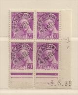 FRANCE ( FCDP - 8 )  1939-  N° YVERT ET TELLIER  N° 78   N** - Prematasellados
