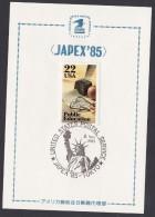 United States Commemorative Postmark, JAPEX'85, Liberty (fc011) - United States