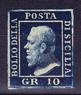 Sizilien 1859 Grana10 * Mit Falz Mi.#5 - Sicily