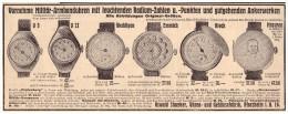 Original Werbung - 1916 - Oswald Staerker , Uhren , Pforzheim I.B. , Uhrmacher  !!! - Taschenuhren