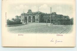 ODESSA - Bahnhof, Gare, Carte Avec Relief. - Ukraine