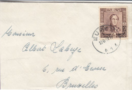 U.P.U. - Timbres Sur Timbres - Léopold Ier - Belgique - Lettre De 1949 - Oblitération Eupen - België