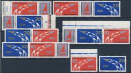 Lot DDR ZD Michel No. 2268 - 2269 /  W Zd 349 - 354 ** postfrisch