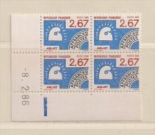 FRANCE ( FCDP - 18 )  1986 N° YVERT ET TELLIER  N° 192     N** - Vorausentwertungen