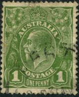 Pays :  46 (Australie : Confédération)      Yvert Et Tellier N° :   51 (A) (o) - 1913-36 George V: Heads