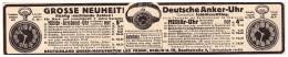Original Werbung - 1916 - Deutsche Anker-Uhr , Militäruhr , Leo Frank In Berlin , Uhrenmacher !!! - Taschenuhren