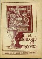 LIB 30 - IL MIRACOLO DI CANNOBIO - 1947 - 64  PAG.+ COP.  - NUM. ILLUSTRAZ. - Religion & Esotérisme