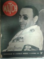 Paris Match 28 Septembre 1939 Calinesco Hollywood Marles Les Mines Boissy La Rivière Le Roi Carol - People