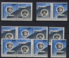 Lot DDR ZD Michel No. 970 - 971 /  W Zd 90 - 93 ** postfrisch