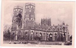 3-PONDICHERY - Sacré Coeur De Jésus -ed. R.P. Babilonne - India