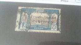 LOT 233737 TIMBRE DE COLONIE CAMEROUN OBLITERE N�44 VALEUR 53 EUROS