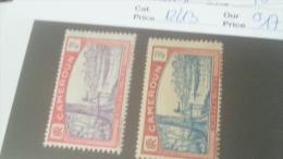 LOT 233752 TIMBRE DE COLONIE CAMEROUN NEUF* N�12/13 VALEUR 17 EUROS