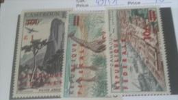 LOT 233753 TIMBRE DE COLONIE CAMEROUN NEUF* N�49/51 VALEUR 70 EUROS