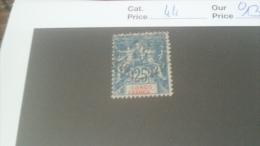 LOT 233759 TIMBRE DE COLONIE CONGO OBLITERE N�44 VALEUR 13 EUROS