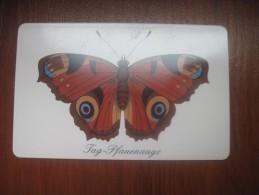 Germany. Tag-Plauenauge Batterfly. - Germany