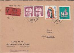 PAUL VON HINDENBURG, FAIRY TALE, TIN FIGURINE, STAMP ON COVER, 1971, GERMANY - BRD