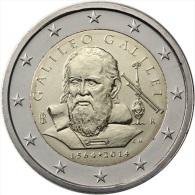 Italie  Italia 2014    2 Euro  Commemorative ( Galilée ) - Italy