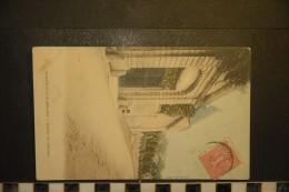 CP, 21, IS SUR TILLE Entr�e du Chateau edition chabrillac 1905 TRES RARE plan coloris�