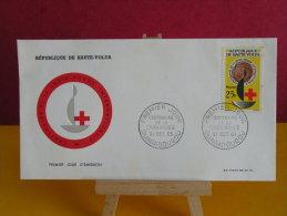 FDC- Centenaire De La Croix Rouge Internationale - Ouagadougou - 21.10.1963 - 1er Jour, République De Haute Volta - Haute-Volta (1958-1984)